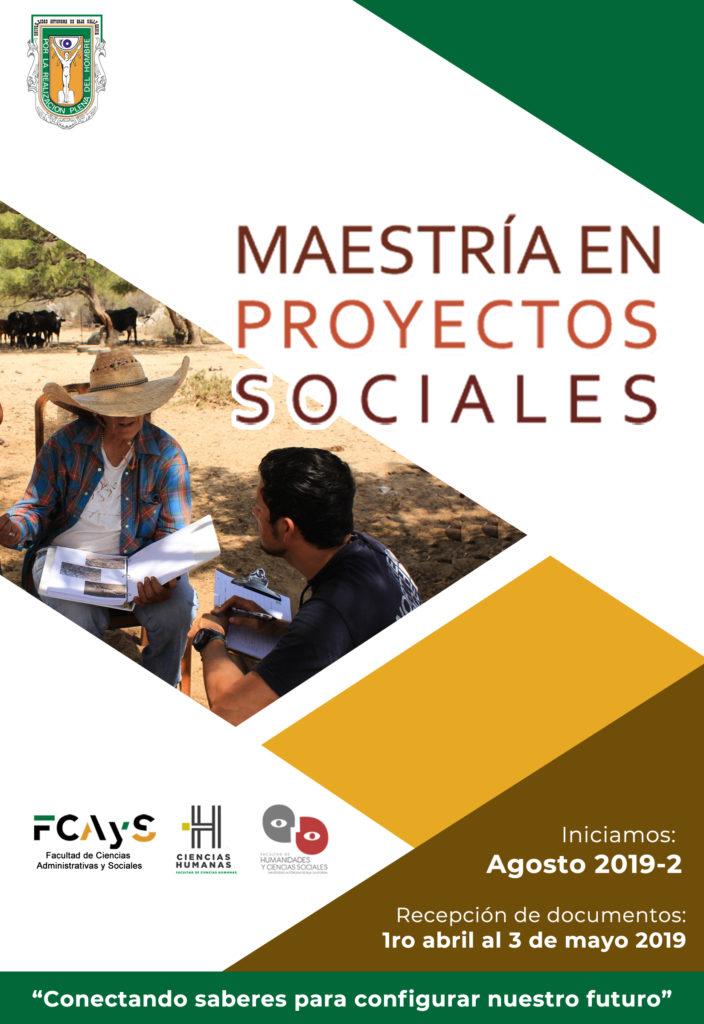 Maestría en Proyectos Sociales