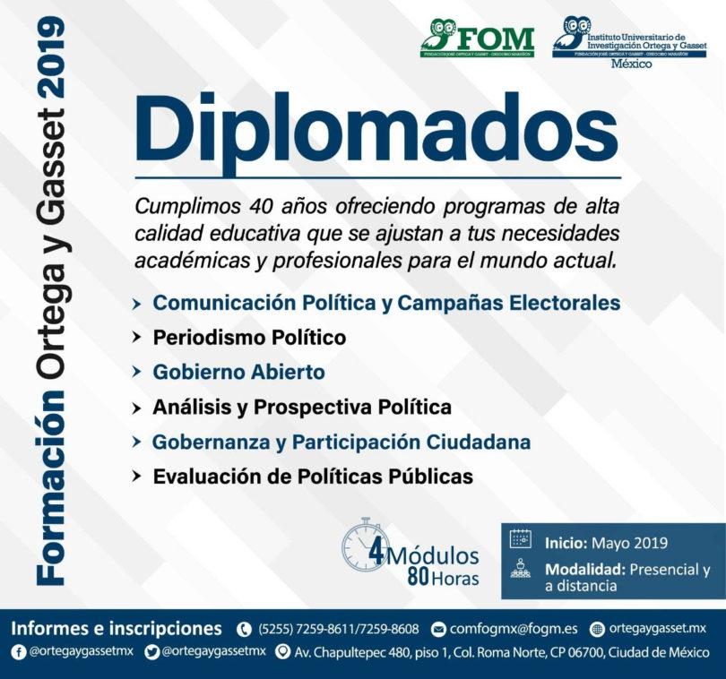 Diplomados y talleres Ortega y Gasset