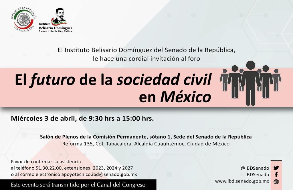 El futuro de la sociedad civil en México