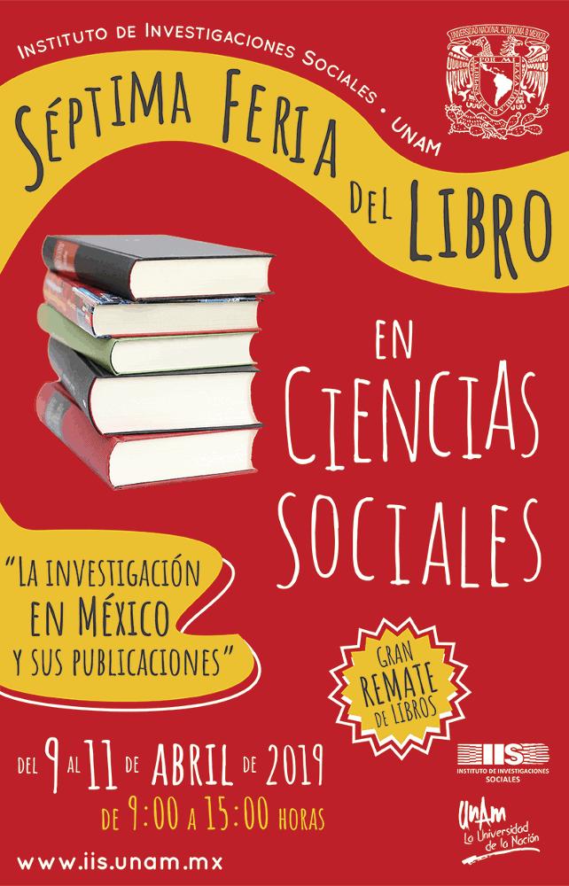 Séptima feria del libro en Ciencias Sociales