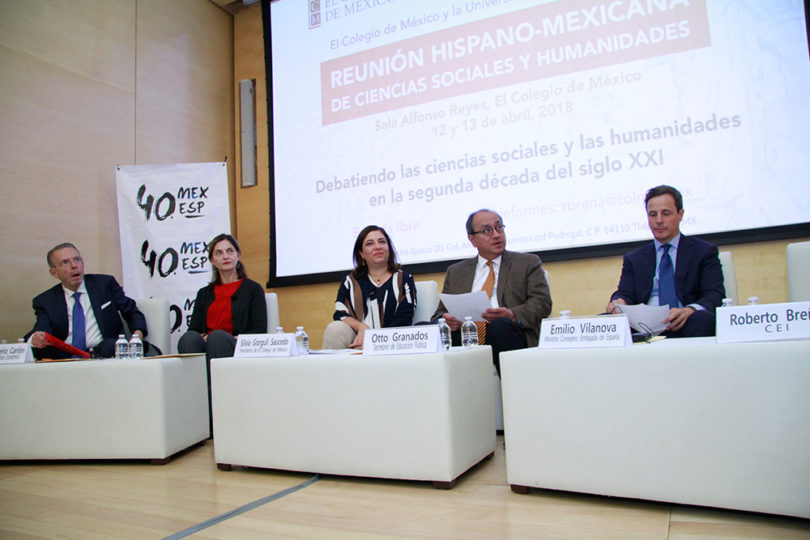 Reunión hispano-mexicana de ciencias sociales