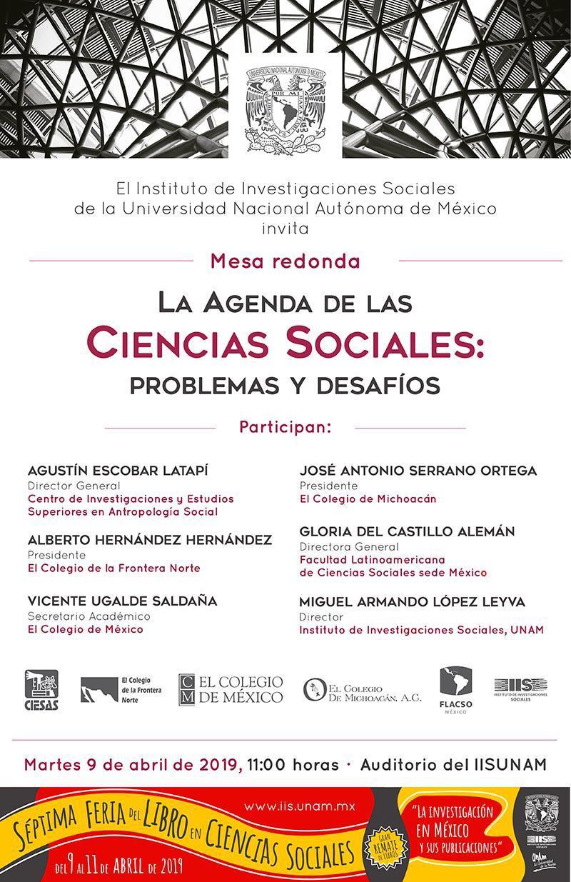 Mesa redonda Séptima Feria del Libro de Ciencias Sociales