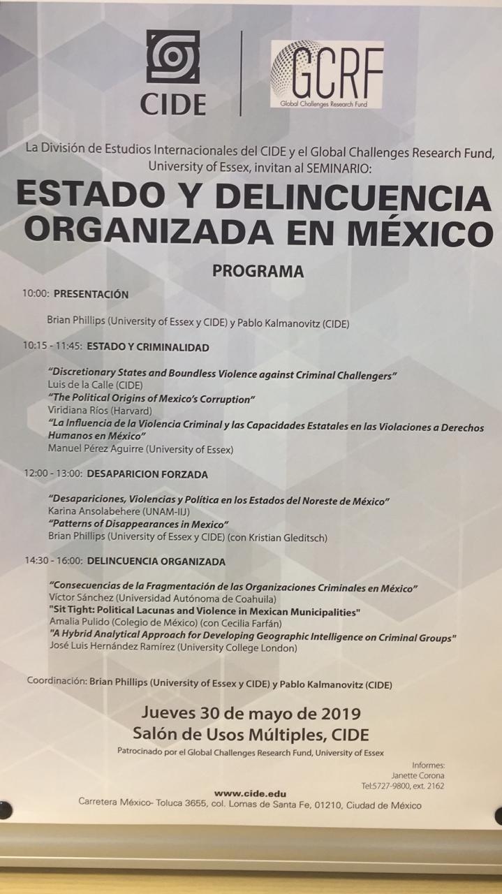 Estado y delincuencia organizada en México