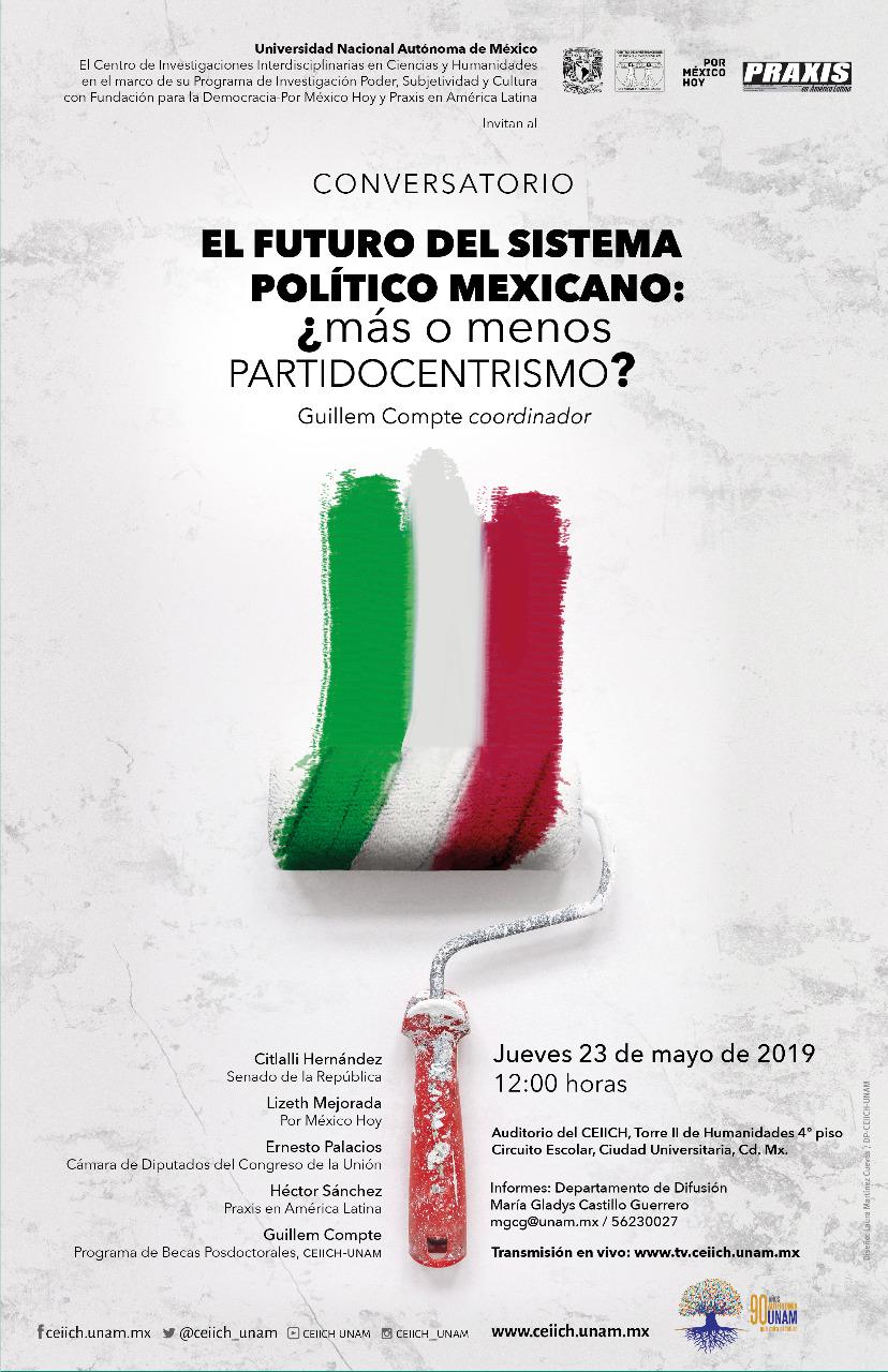 El futuro del sistema político mexicano: ¿más o menos PARTIDOCENTRISMO?