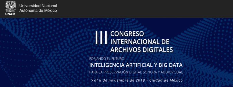 III Congreso de Archivos Digitales