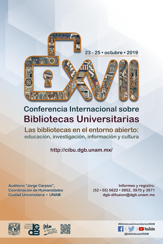 XVII Conferencia Internacional sobre Bibliotecas Universitarias