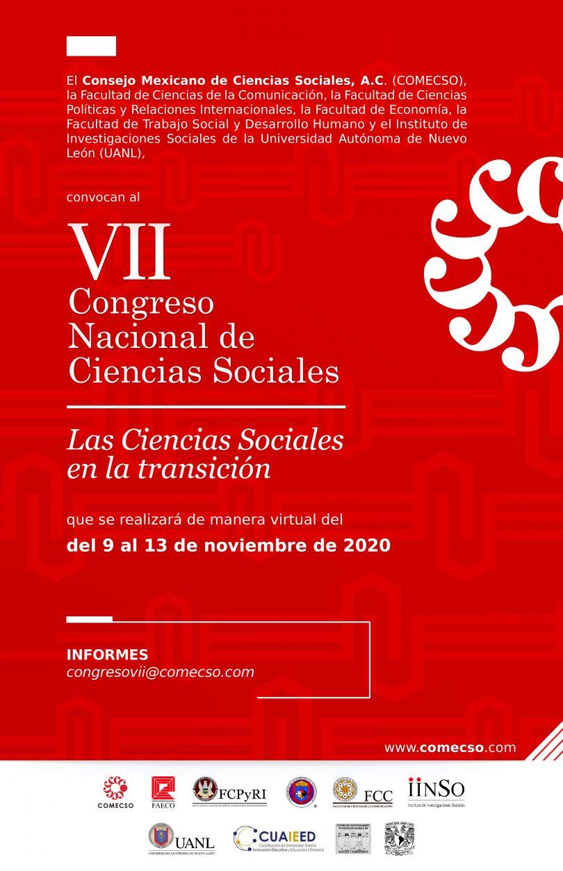 Convocatoria al VII Congreso Nacional de Ciencias Sociales