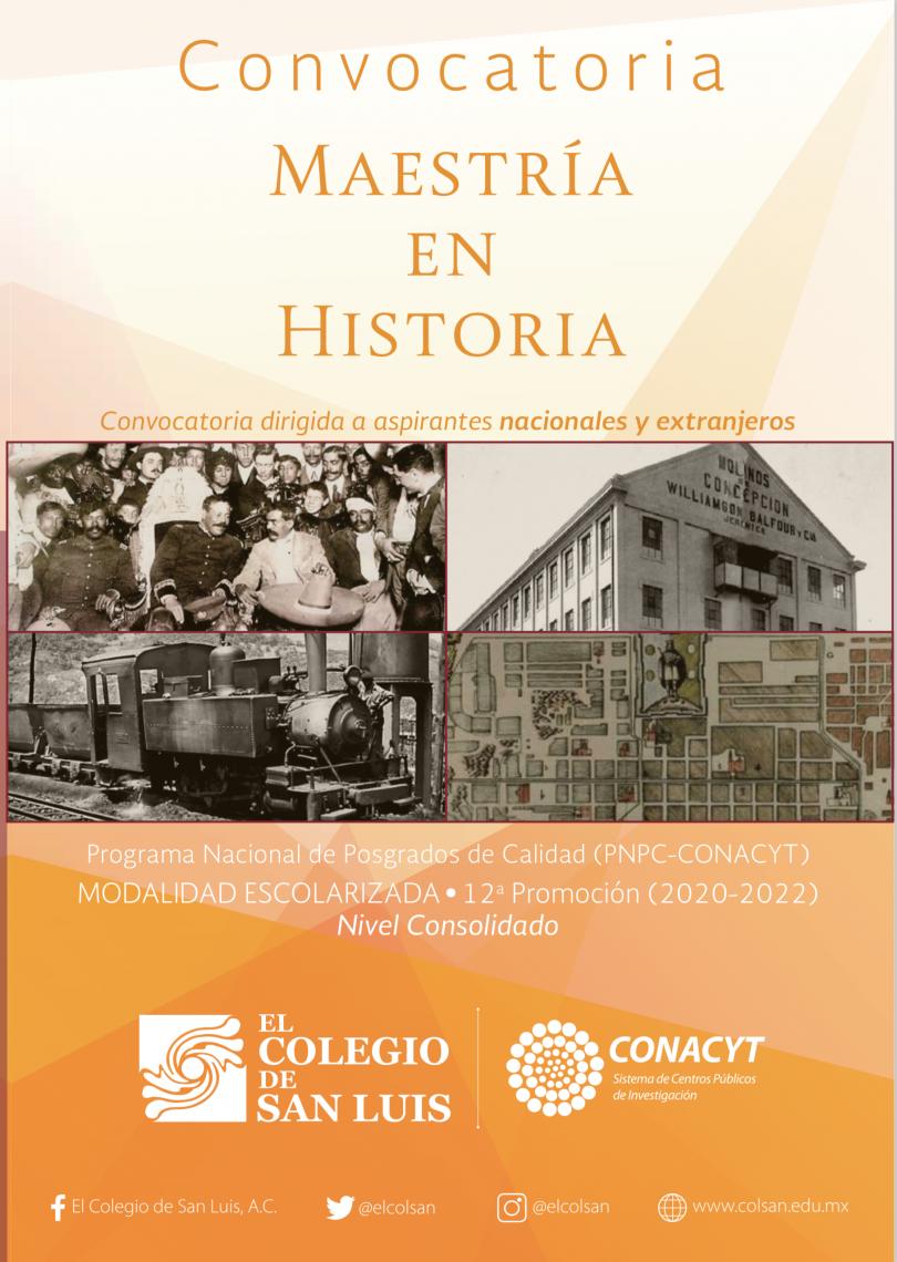 Maestría Historia- Colsan