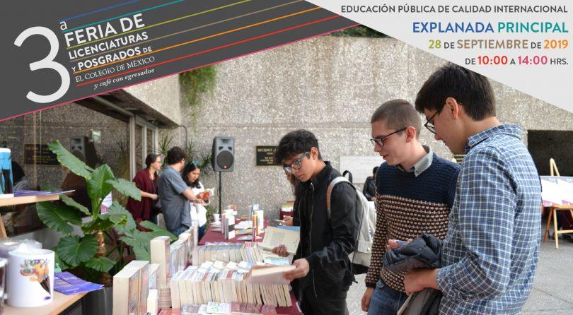 3ª Feria de licenciaturas y posgrados Colmex