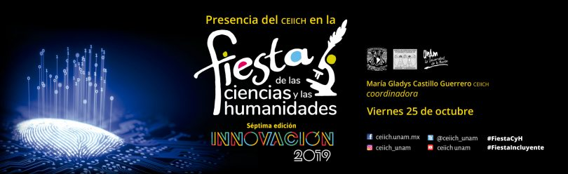 El CEIICH en la Fiesta de las Ciencias y las Humanidades