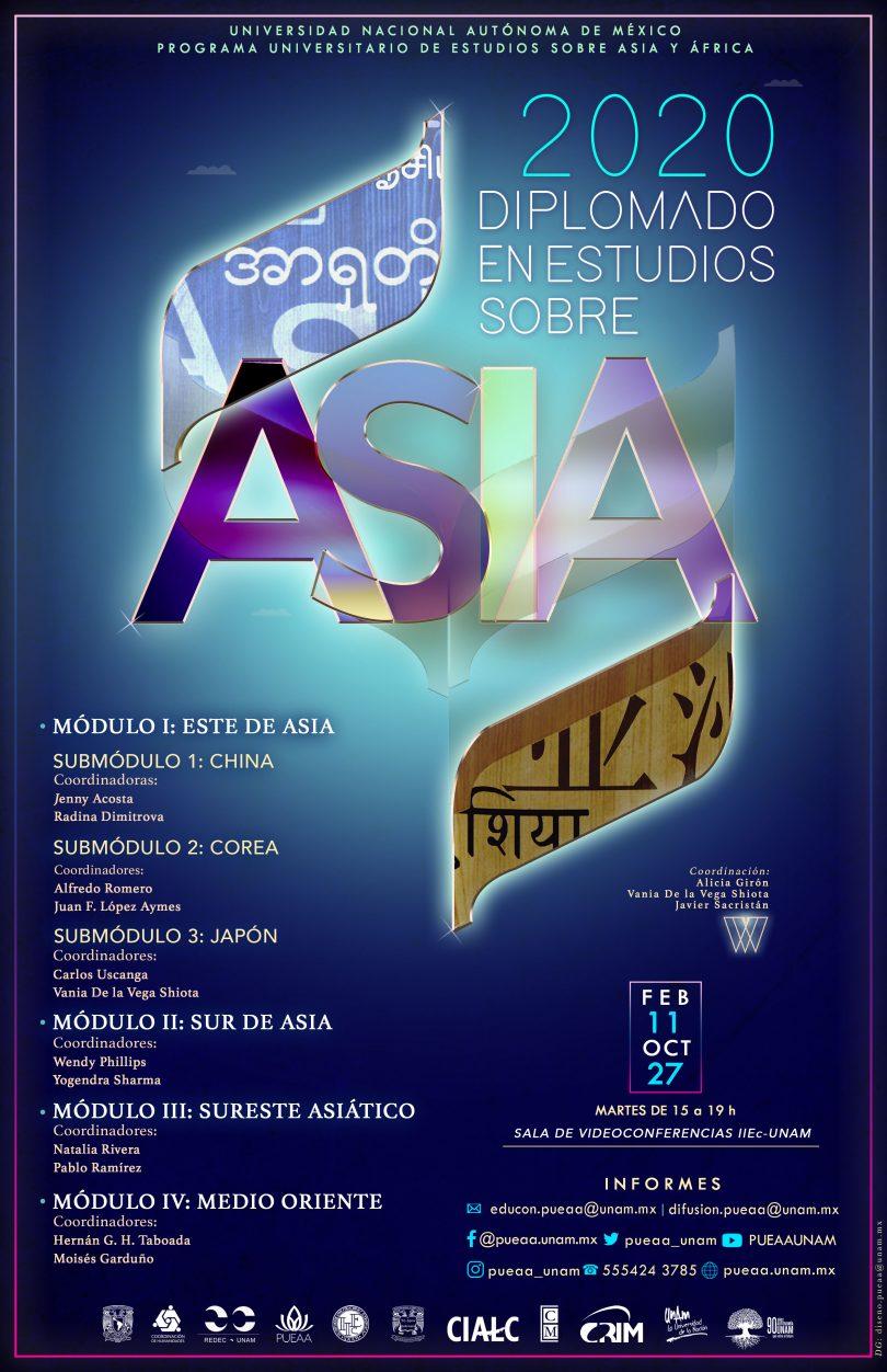 Diplomado en Estudios sobre Asia, 2020