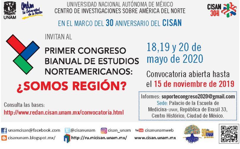 Primer Congreso Bianual de Estudios Norteamericanos