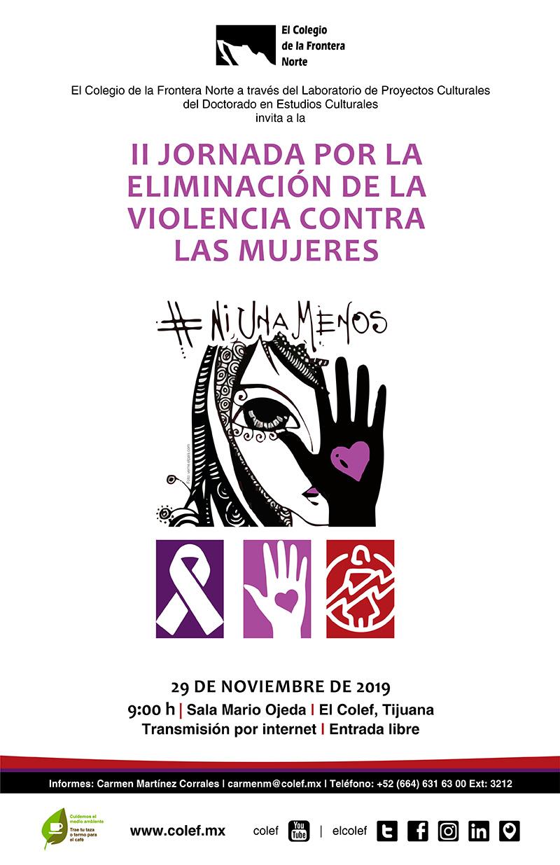 II Jornada por la eliminación de la violencia contra las mujeres