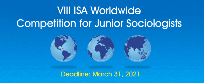 ISA Worldwide Competition for Junior Sociologists