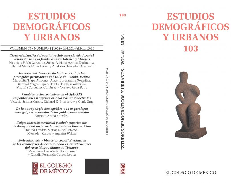 Estudios Demográficos y Urbanos, vol. 35, núm. 1