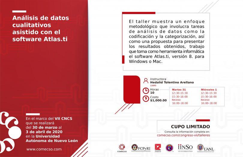 Análisis de datos cualitativos asistido con el software Atlas.ti