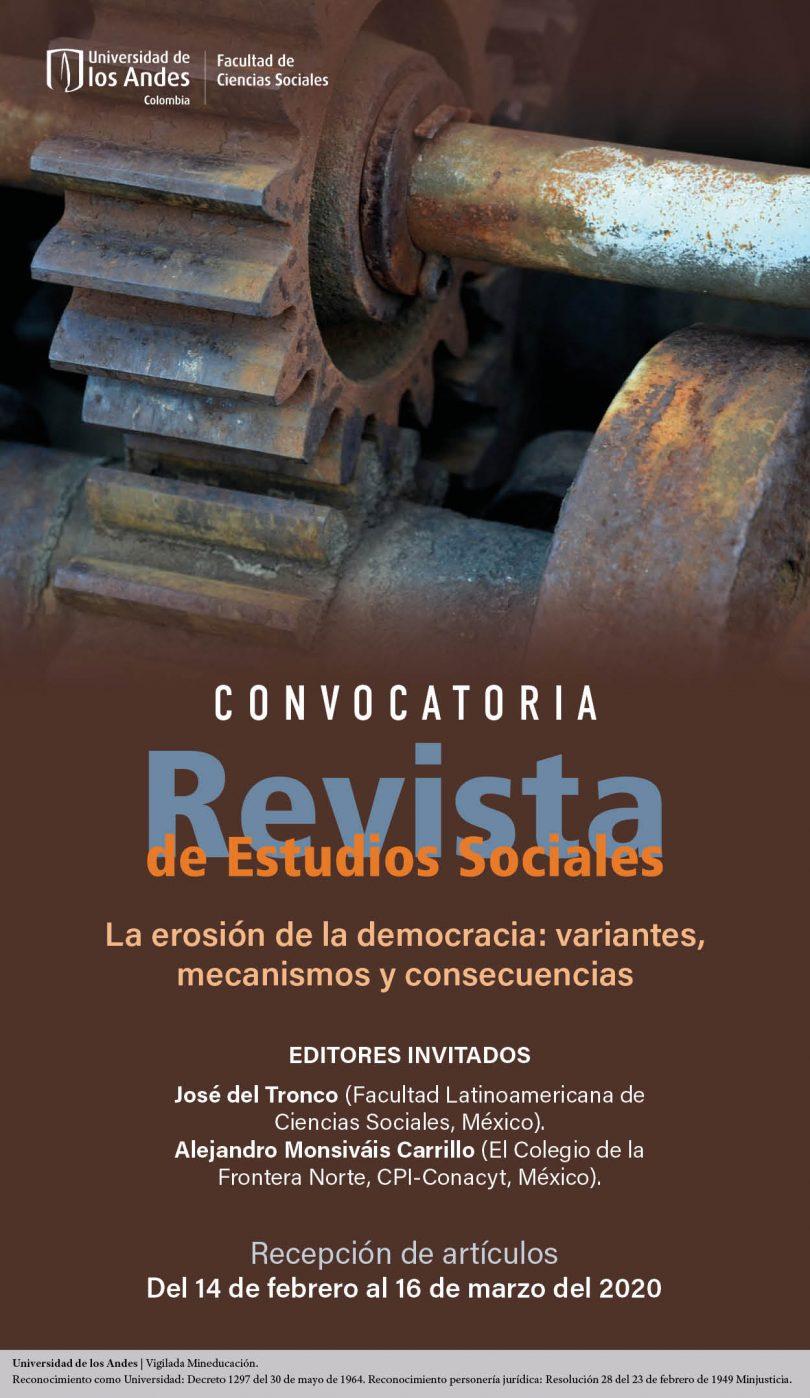 Publica en la Revista de Estudios Sociales