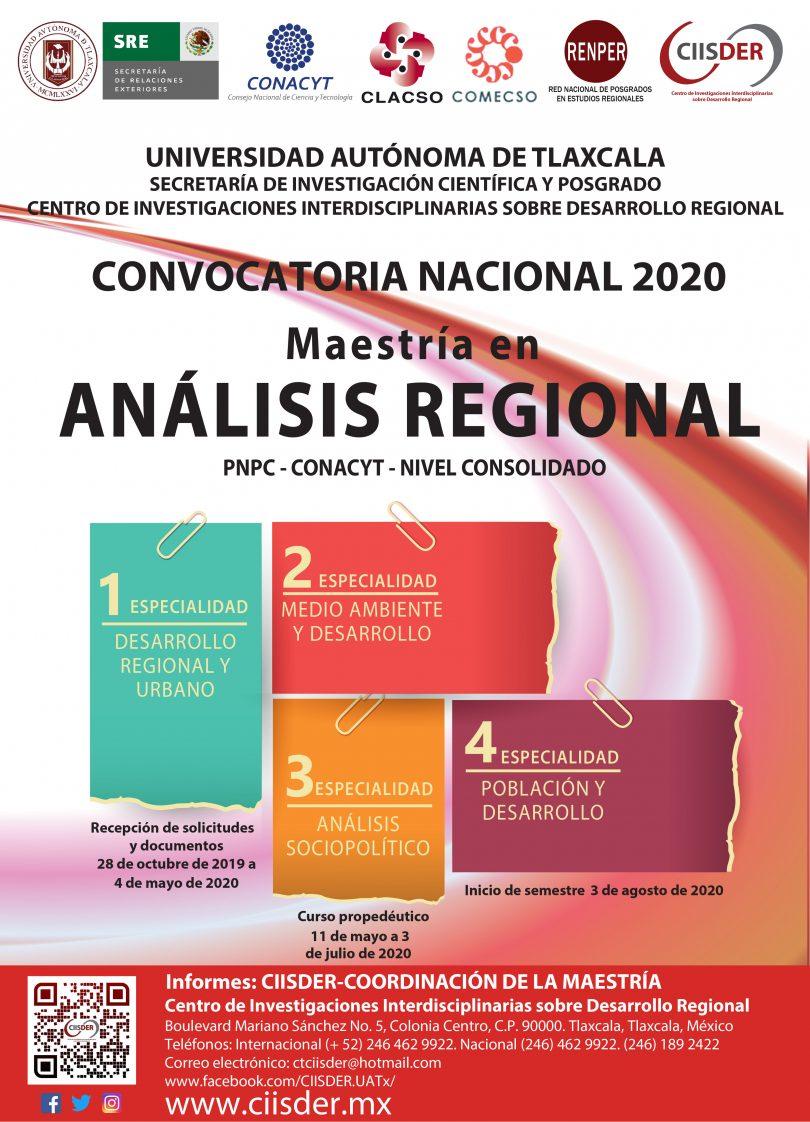 Maestría en Análisis Regional