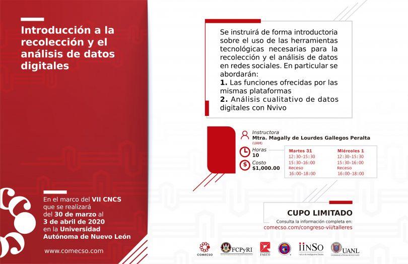 Introducción a la recolección y el análisis de datos digitales