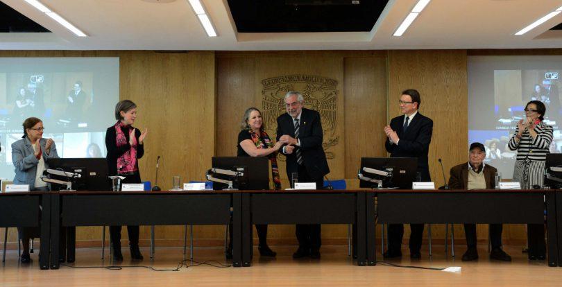La Dra. Guadalupe Valencia, nueva Coordinadora de Humanidades de la UNAM