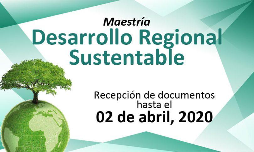 Maestría en Desarrollo Regional Sustentable