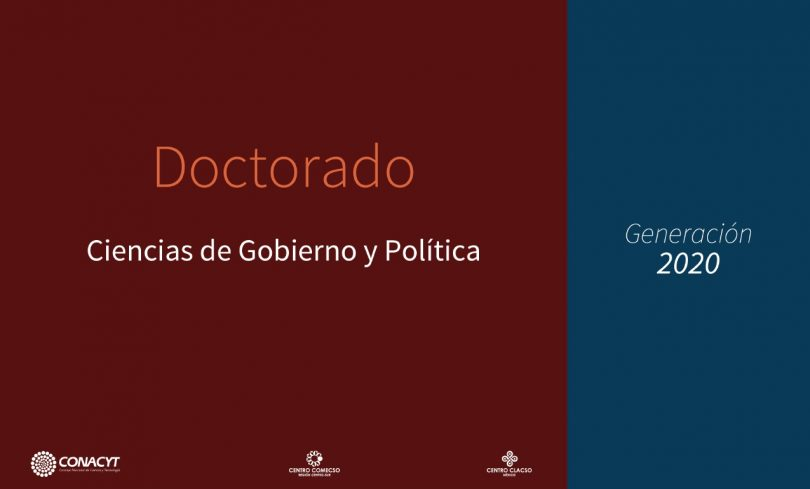 Doctorado en Ciencias de Gobierno y Política