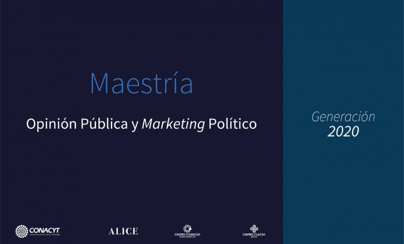 Maestría en Opinión Pública y Marketing Político