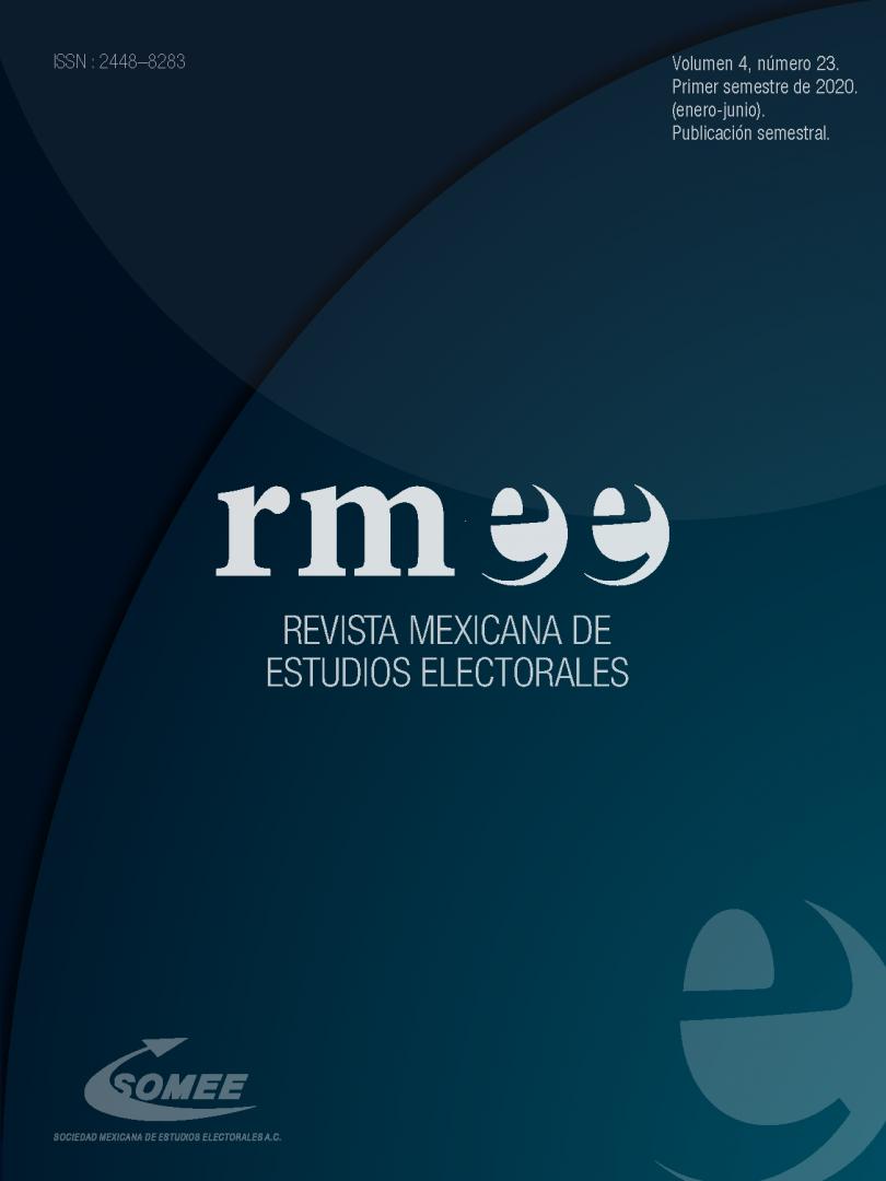 Revista Mexicana de Estudios Electorales, vol. 4, núm. 23