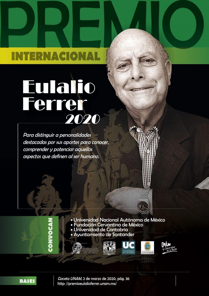 "VII Premio Internacional ""Eulalio Ferrer 2020"""