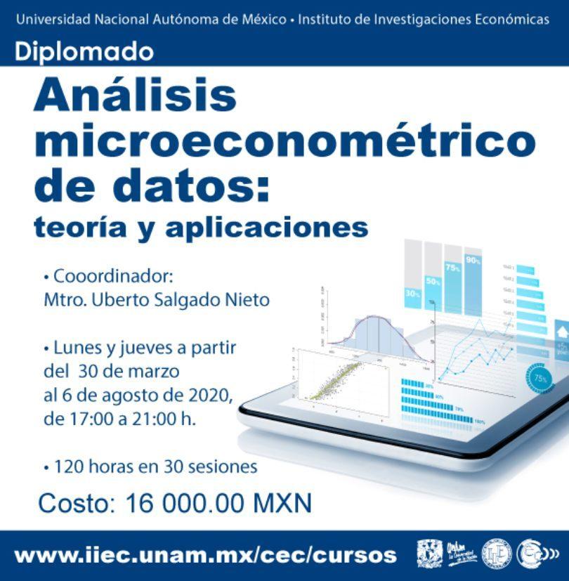 Análisis microeconométrico de datos