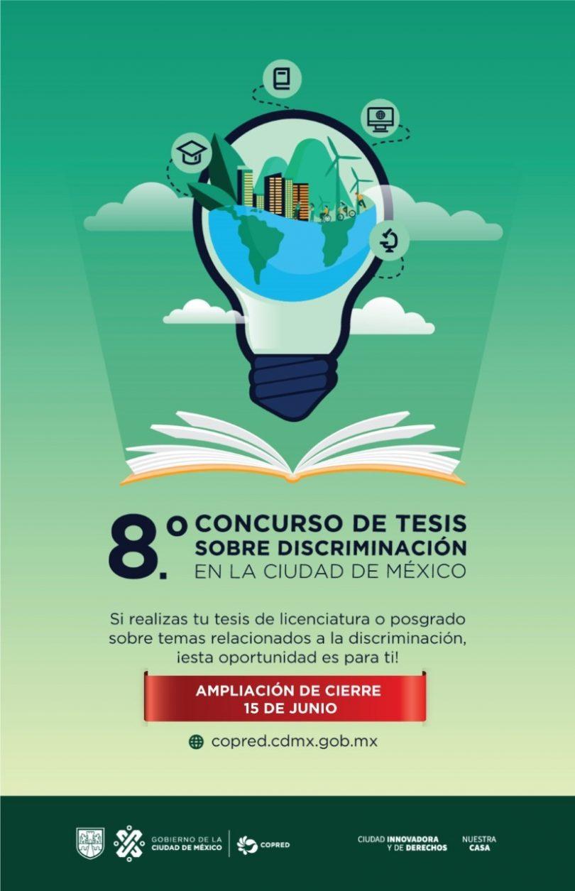 Concurso de tesis sobre discriminación en la Cd. Mx.