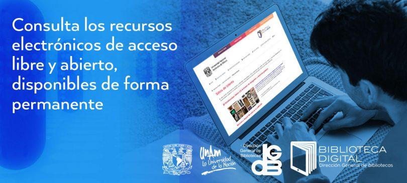 Recursos electrónicos Biblioteca Digital UNAM