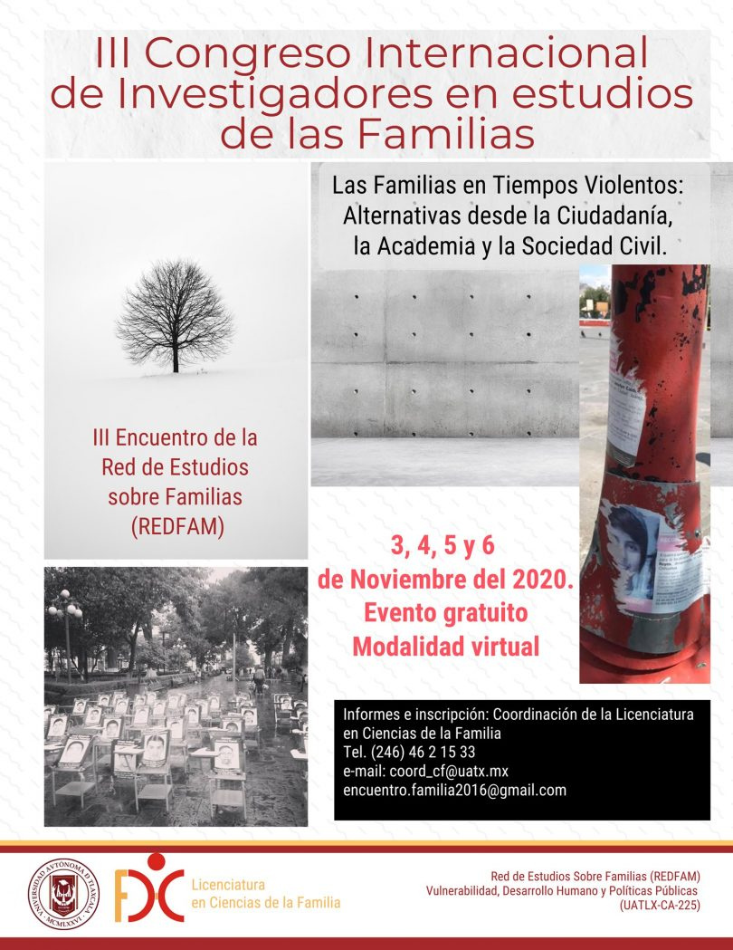 III Congreso Internacional de Investigadores en Estudio de las Familias