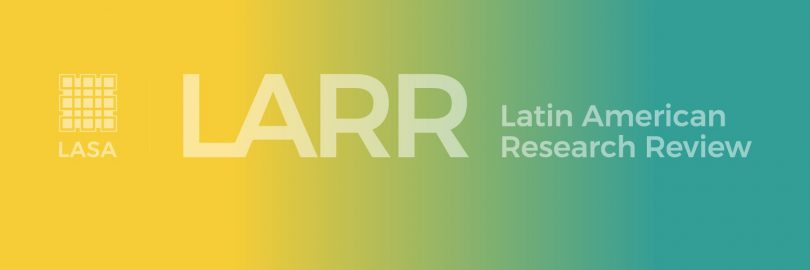 Latin American Research Review, vol. 55, num. 1
