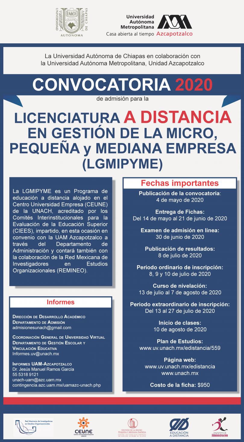Licenciatura en Gestión de la MPyME