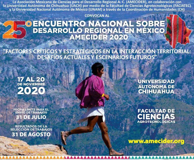 25° Encuentro Nacional sobre Desarrollo Regional en México