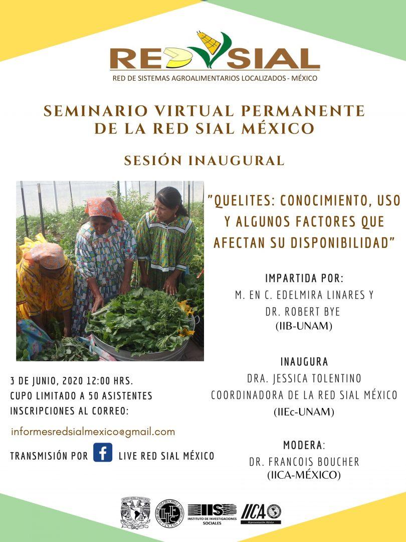 Seminario virtual permanente de la Red SIAL México