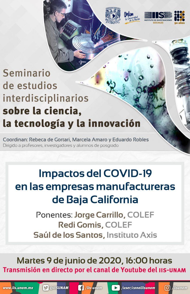 Impactos del COVID-19 en las empresas manufactureras