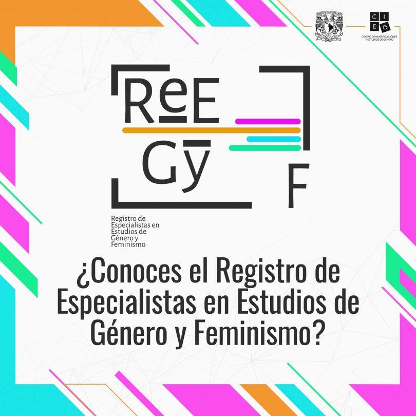 Registro de Especialistas en Estudios de Género y Feminismo (REEGyF)