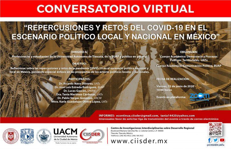Repercusiones y retos del COVID-19 en el escenario político local y nacional en México