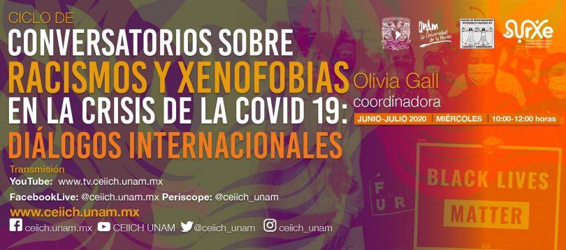 Conversatorios sobre Racismo y Xenofobias en la Crisis de la COVID-19: Diálogos Internacionales
