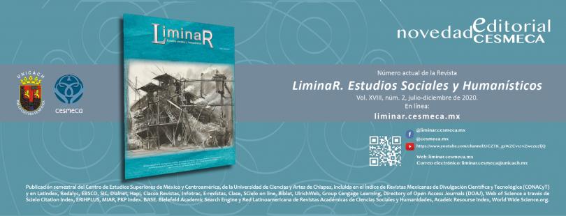 Liminar. Estudios Sociales y Humanísticos, vol. XVIII, núm. 2