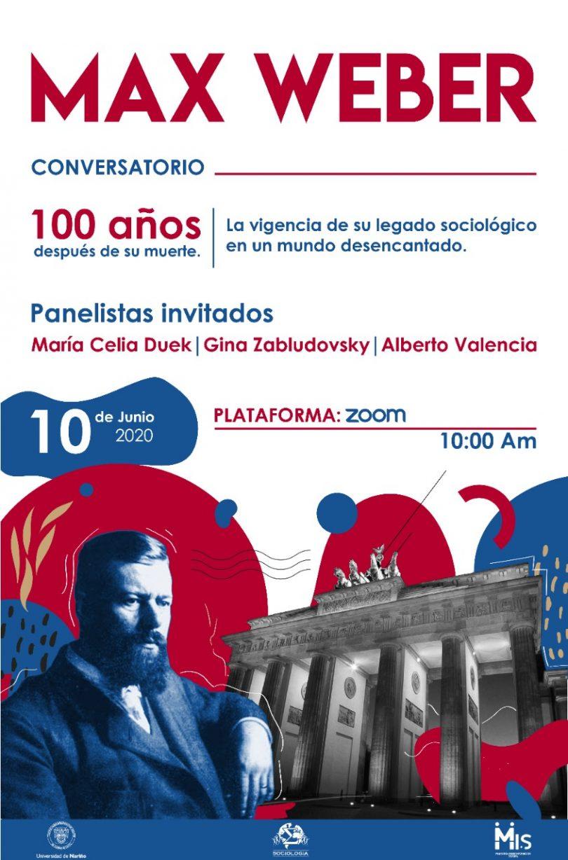 Max Weber. Conversatorio