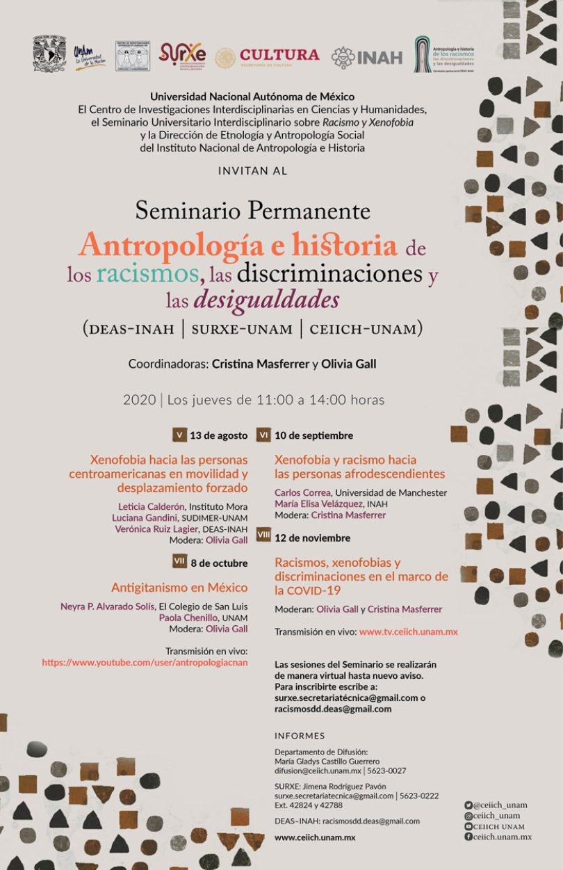 Seminario Permanente Antropología e historia de los racismos