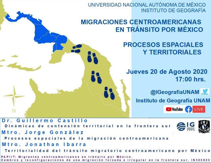 Migraciones centroamericanas en tránsito por México