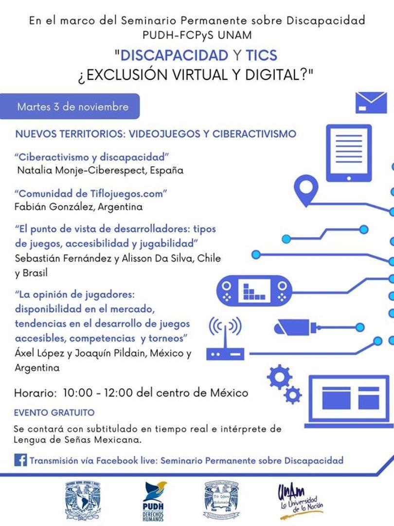 Discapacidad y TICS ¿Exclusión virtual y digital?