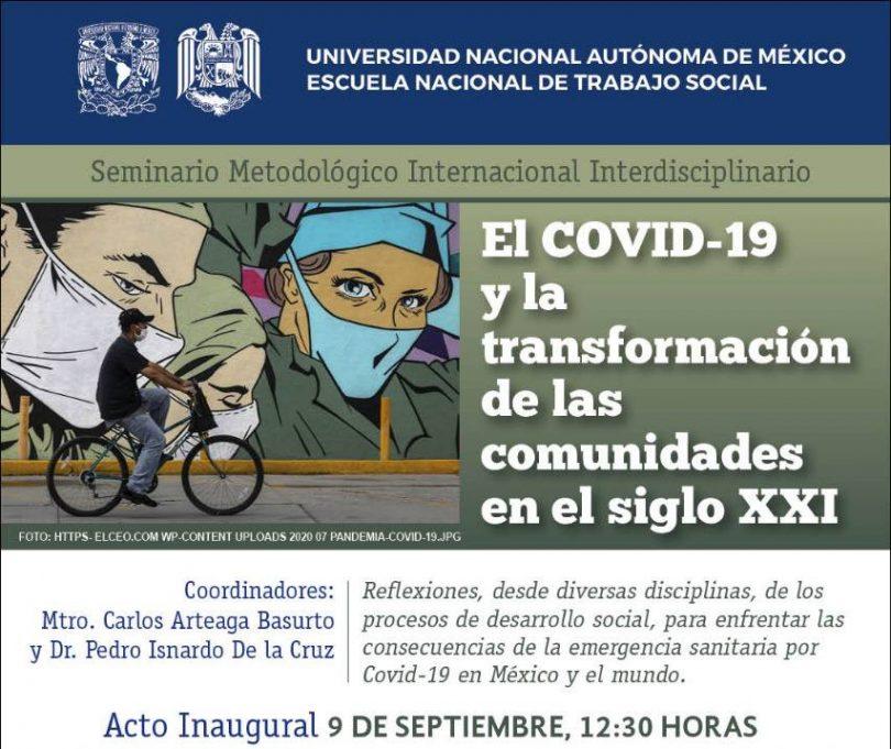 El COVID-19 y la transformación de las comunidades en el siglo XXI