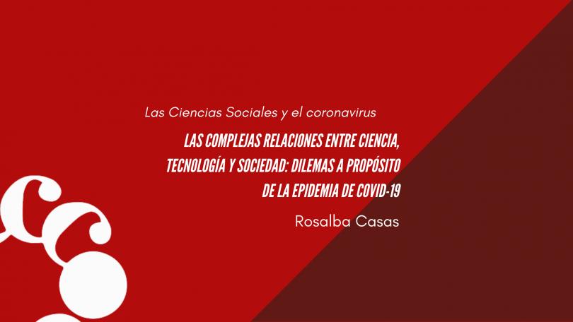 Las complejas relaciones entre ciencia, tecnología y sociedad