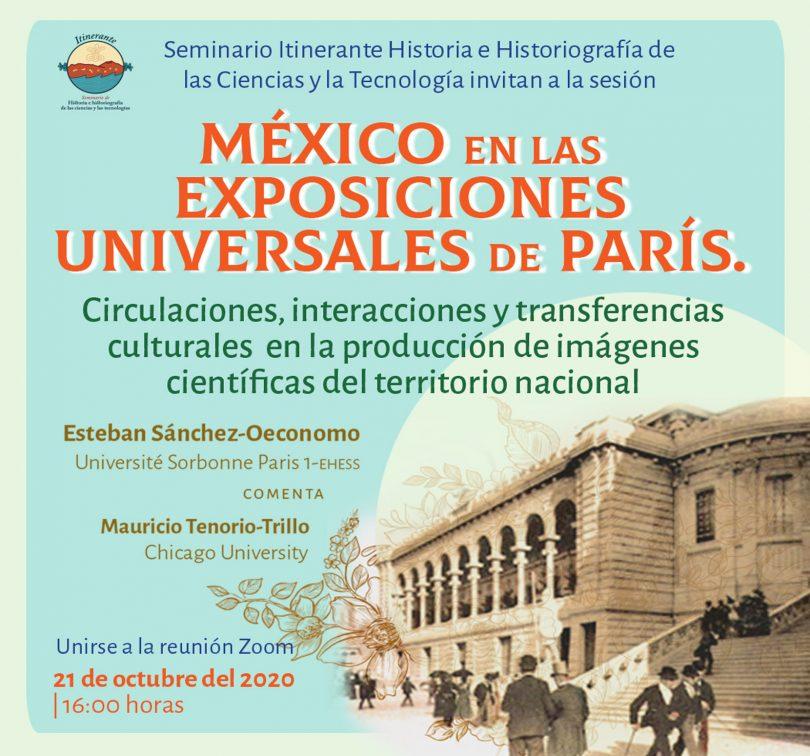 México en las exposiciones universales de París.