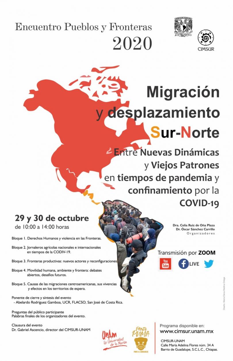 Encuentro Pueblos y Fronteras 2020 virtual